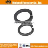 China fastener good quality and price carbon steel with zinc plated standard din 127 spring loacking clip washer