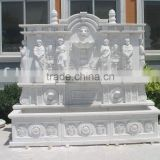 carved stone wall fountain PQ465