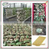High Quality Basalt Fiber Materials Gardening & Hydroponics System & Insulation Rockwool Cubes Rockwool Board