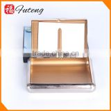 Custom metal square rolling smoking storage cigarette box tobacco tin cases