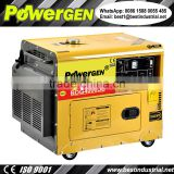 Best Price!!! POWERGEN Low Noise 3000W Single Phase Air-cooled 50/60Hz Soundproof Diesel Generator 3KVA