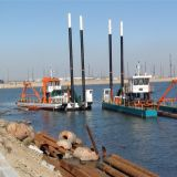 Latin america colombia dredging boat,cutter head dredger