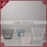 Custom sizes anf color cheap wholesale eco-friendly painted finished bulk wire mesh basket