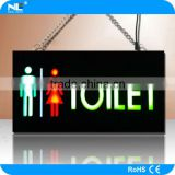 TOILET led light sign board/ lighting board /led christmas board