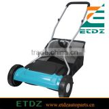 18 inch hand push lawn mower grass cutter