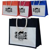 Eco-Friendly Laminated Jute/ Burlap Shopping Bag