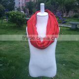 Fashion Child Neckerchief Warm cotton Scarf Knitted Scarves Children Chevron Scarf Boy And Girl big red Color Scarves