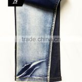 Combed siro yarn Cotton elastic denim fabric