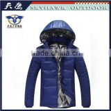 Top Brand Oem Men Ultra Light Down Jacket With Real Fur