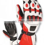Cowhide Leather Motorbike gloves