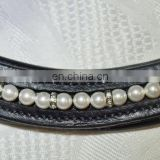 Horse Pearl with blings Browbands