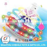 New arrival plastic classic funny led spinning toys for kids