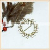 fashion blingbling rhinestone belt buckle/metal trimming design for lady suit 2014 hotsale