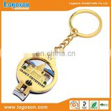 High quality gold plated souvenir custom metal fancy nail clippers