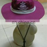 100% cotton fashion school bucket hats / fisherman cap with big brim