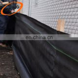 Woven Ground Cover Landscape Fabric Weed Control Earth mat Silt Fence 3' x 500'