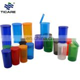 Wholesale PP Pop Top Plastic Containers 19 dram 30 dram PopTop Vial with Lids