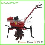 New Engine ISO9001 5HP Multi-Function Gasoline Compact Tractor Cultivator For Agricultural Machinery