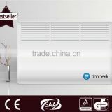 Wall mounted electrical heater convector