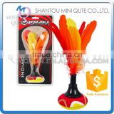 MINI QUTE Outdoor Fun & Sports kids hand featherball INDIACA beach kick shuttlecock game toy NO.WMB04919