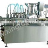 XFY glass bottle washing filling and capping machines