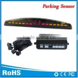 Promotion 4 rear sensors Parking distance control sensor with LED monitor Alarm by Bibi sound Good price and Easy install