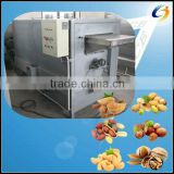 Popular in Europe peanut roasting machine for nut shop, nut food factory