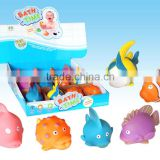 Soft toy Bath toy with water spraying