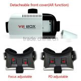 Virtual Reality active 3d glasses for blue film video/xnxx movie/open full OEM factory for google cardboard glasses