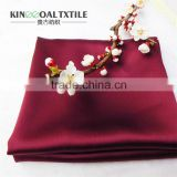 Wholesale Popular High Quality Double Face Sleeping Silk Pillowcases In 19mm King Size 51x91cm Wine Red