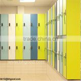 Plain color hpl compact laminate panel for school lockers                                                                         Quality Choice
