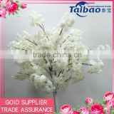 Online wholesale wedding decorative branches making white cherry blossom tree