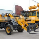 forklift mini wheel loader / small front -end shovel loader for sale / zl08 wheel loader with pallet fork