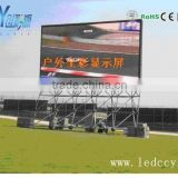 High definition P16 advertising outdoor full color LED display/led signs board/light-emitting diode display screen