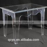 handmade crystal acrylic table for dinning