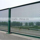 Aluminum/galvanized/stainless steel Expanded metal wire mesh fence widely used in Canada