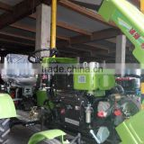 2015 hot selling, good quality mini farm tractor SH150, hand tractor, with tiller, plough, 6+1 gears