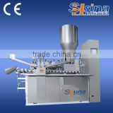 BB cream lotion, toothpaste aluminium tube filling and sealing machine