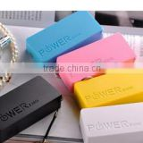 High Efficiency New 2600mAh Perfume Mini Power Bank Li-Polymer Battery Pack For Cellphones