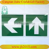 Customrized Aluminium Reflective Traffic Road Signs turn left metal sign