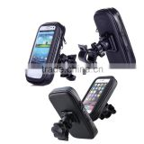 2015 Newest Universal Auto Waterproof Bike Bicycle Mount Phone Holder Bag Case for iPhone/Samsung