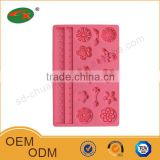 New Design silicone lace molds for cake decorating