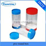 15 years manufacture PVC clear plastic tube,see-through plastic tube,plastic tube package                                                                         Quality Choice