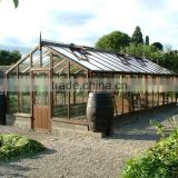 Toughened greenhouse glass panels with AS/NZS2208:1996, BS6206, EN12150 certificate