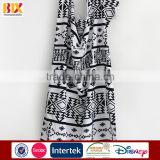 High Quality 100% cotton black and white printed funky beach towels