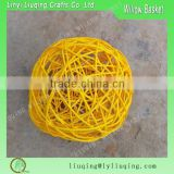Cheap Christmas Decorative Wicker Ball For Home Garden Decoration