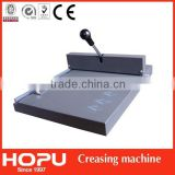 manual paper creasing machine creasing and perforating machine digital creasing machine