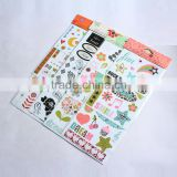 home decoration sticker paper,label sticker paper A4,removable sticker paper