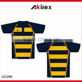 Custom Rugby jersey / rugby jersey shirt with digit sublimation printing /rugby clothing