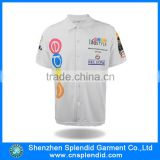 Short sleeve polo shirts OEM branded men polo shirt classic collar men polo T shirt
